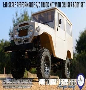[Z-K0051] Gelande II Truck Kit w/Cruiser Body Set