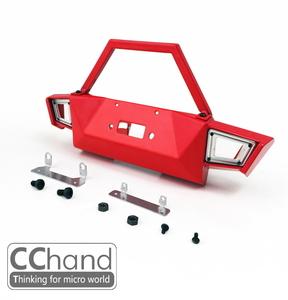 CChand 1/10 AXIAL SCX10 90046/90047 체로키 앞범퍼[레드]