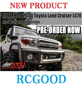 1/10 Toyota Land Cruiser LC70 Hard Body Set DIY Version [랜드크루져 LC70바디세트]