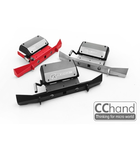 1/10 CChand AXIAL SCX10 90046/90047 cherokee 체로키 리어 기본형 범퍼 [LED 5mm 포함/ 실버]