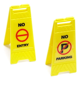 [YA-0542] 1/10 Scale Traffic Sign Accessory 6pcs
