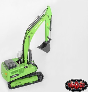 [VV-JD00022] 1/14 Scale RTR Earth Digger 360L Hydraulic Excavator (Green) [송수신기미포함]