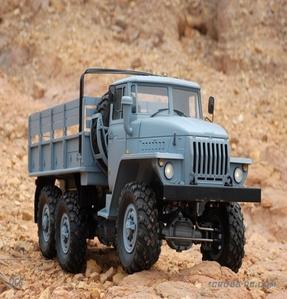 [90100020] 1/10 CROSS UC6 군용 트럭 6 x 6
