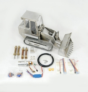 [1/14 풀메탈 로더] TL14 1/14 Full metal Track Loader KIT + Hydraulics + Electronics [VERSION 2]