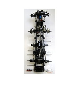 1/14 THICON 8x4 thicon-Schwerlast-Chassis LIGHT-2 Bausatz 8X4 트레일러 하부세트