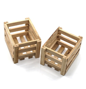 (#YA-0400) 1/10 RC Rock Crawler Accessory Wooden Crate