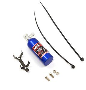 (#YA-0429BU)Aluminum Nos Nitrous Oxide Balance Weight Bottle 23g For 1/10 RC Blue